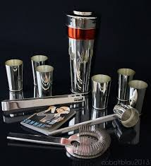 barware sets 49 best vintage barware images on pinterest art deco design art