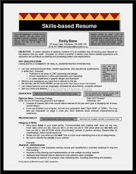 Skill Based Resume Examples by Good Skills Based Resume Example U2013 Resume Template For Free