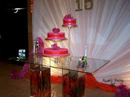 Decorations For Sweet 16 Abda U0027s Party Decorations Pink Orange Sweet 16 Party