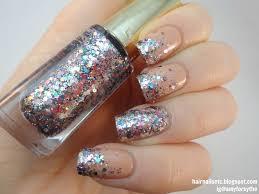 58 latest simple glitter nail art ideas golfian com