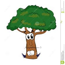sad tree stock illustration image 47957822