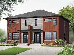luxury modern duplex house floor plans modern house design