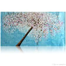 2017 kgtech thick textured acrylic paintings 3d floral wall art