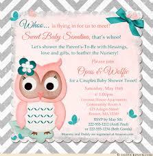 coral baby shower chevron baby owl shower invitations sweet woodland custom