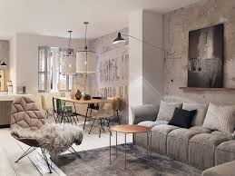 Interior Design For Small Apartments Concrete Finish Studio Apartments Ideas Inspiration