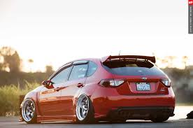 subaru impreza hatchback modified wallpaper 2009 subaru sti hatchback red cars modified wallpaper 2048x1360