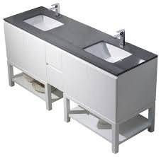 Emmet  Double Vanity Bathroom Vanities And Sink Consoles By - Bathroom vanities with quartz countertops