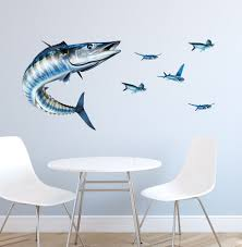 wahoo wall decal bold wall art