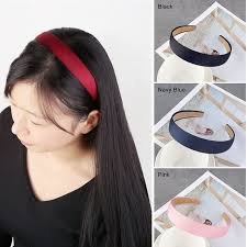 cloth headbands 2018 new korean style women fashion hair bands hair hoop solid