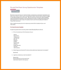 10 questionnaire format sample lease template