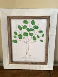50th anniversary gift for parents keeping up with the kiddos family thumbprint tree 50th