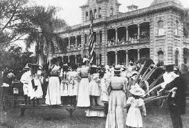 Flags In Hawaii History Overthrow Of Kingdom