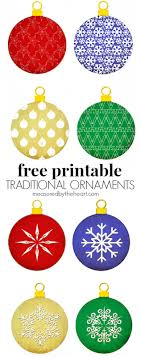 free printable ornaments free printable