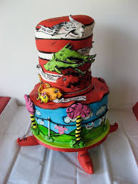 dr seuss themed baby shower cake artisan cake company