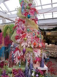 store christmas tree christmas lights decoration