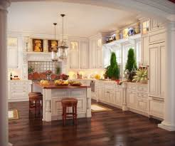 Kitchen Floor Tile Ideas With Oak Cabinets Great Wooden Kitchen Floor Tile Home Designs