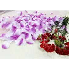 Silk Rose Petals 5000x Lavender And White Purple Silk Rose Petals Wedding Bridal