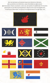 Commonwealth Flags Flags Of The Wolf Empire By Neethis On Deviantart