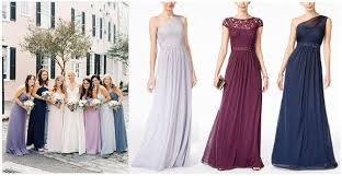 trendwatch mismatched bridesmaid dresses fashionable wedding