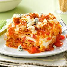 thanksgiving lasagna recipe slow cooker buffalo chicken lasagna recipe taste of home