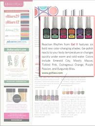 nails magazine august 2016 issue gel ii manicure