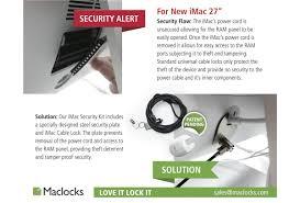 Lock Laptop To Desk by Imac Cable Lock Imac Locks