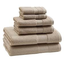 Bathroom Towel Sets by Aria Bath Towel Set Pumice Kassatex Papyrus Products