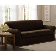 Sleeper Sofa Slipcover Sure Fit Stretch 2 Seat Sofa Cover Catosfera Net