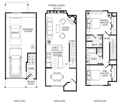 luxury townhouse floor plans b11 gables avignon townhomes