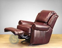 Leather Rocker Recliner Barcalounger Regency Ii Leather Rocker Recliner Chair