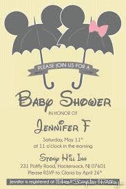 disney baby shower invitations cloveranddot