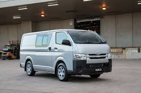 toyota hiace truck toyota hiace gets a range of updates photos 1 of 8