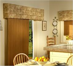 Patio Door Valance Ideas Interior Get The Awesome Window By Applying Wooden Window