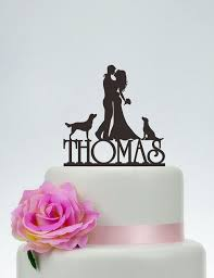 wedding cake toppers and groom best 25 dog cake topper ideas on fondant dog fondant