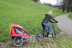 the truth about bike trailers for kids and babies