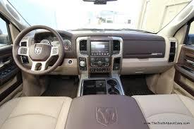 Dodge Ram Cummins 2014 - 2014 ram 1500 eco diesel laramie interior 002 the truth about cars