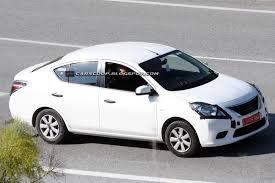 nissan almera low down payment spied nissan testing new 2012 sunny versa sedan in europe