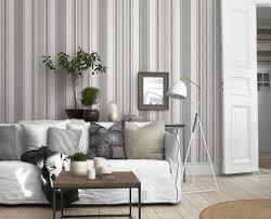 Grey Wallpaper Living Room Uk Buy Boråstapeter 3006 Linen Stripe Wallpaper Collected Memories