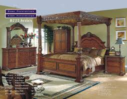 King Size Poster Bedroom Sets Bedroom Design Stunning Canopy Bed With Curtains And Bed End