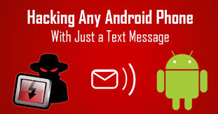 text message to hack any android phone remotely