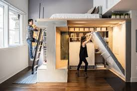 440 Square Feet Apartment The Designer Shoebox Studio Apartments That Use Every Inch Wsj