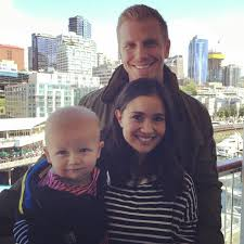 bachelor star sean lowe dishes on his son u0027s birthday exclusive