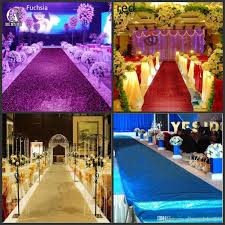 fashion wedding decor pearlescent carpet 1 4 m wide shiny aisle