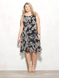 db signature plus size ella floral dress dressbarn reception