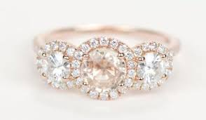 Rose Gold Wedding Rings by 15 Stunning Rose Gold Wedding Engagement Rings That Melt Your