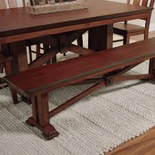 Mission Style Dining Room Table by Lugano Bench World Market