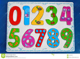 colorful wooden numbers for kids stock photo image 69669681