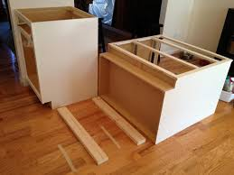 how to install kitchen island cabinets kitchen islands installing kitchen island cabinets articles with