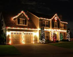 white and green outdoor lights design