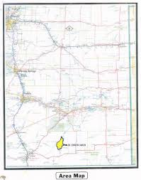 Colorado Hunting Unit Map by Sporting Je Canyon Ranch Southeast